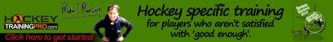 Hockey specific training for players who aren't satisfied with 'good enough' - Click here to get started