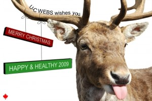Merry Christmas, from U-C WEBS