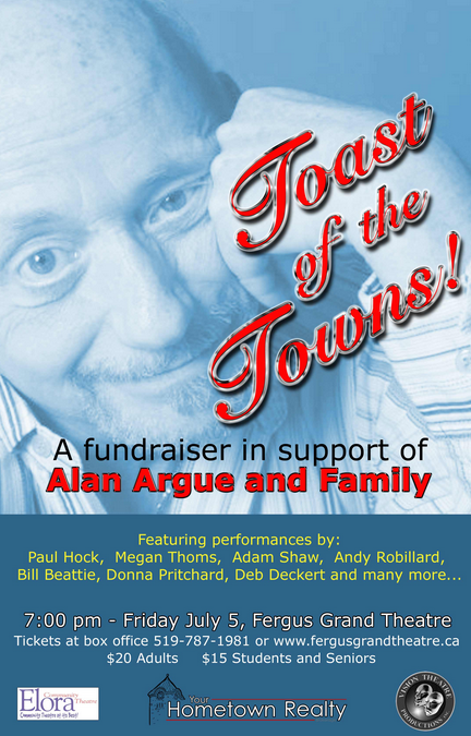 Toast of the Towns 2013 - Alan Argue