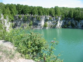 Image of the Elora Quarry Conservation Area, near the Gorge